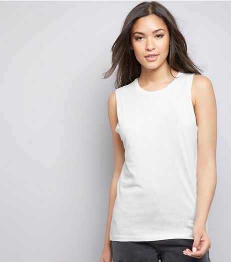 Cream Tank Top | New Look