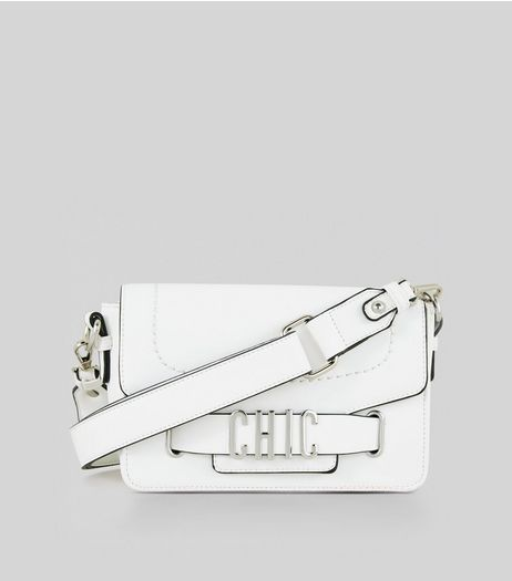 White Chic Cross Body Bag | New Look