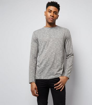 Grey Longsleeve T-Shirt