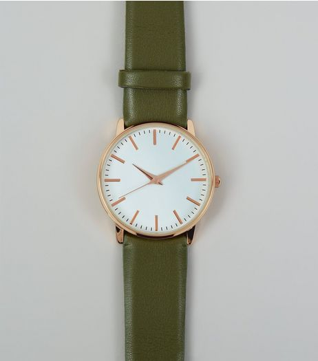 Khaki Strap Watch | New Look