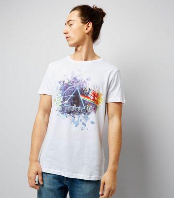 White Pink Floyd Logo T-Shirt