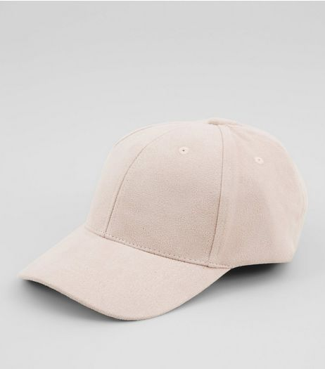 Pink Suedette Cap  | New Look