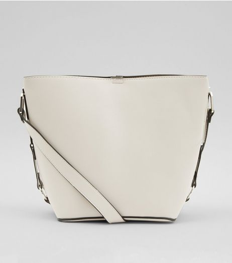 Stone Side Detail Bucket Bag | New Look