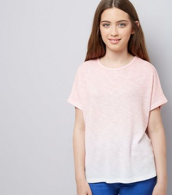 Teens Coral Ombre T-Shirt