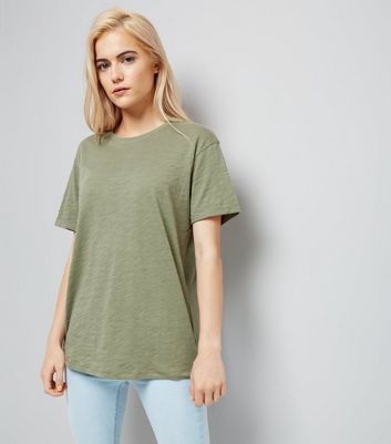 Olive Green Organic Cotton T-Shirt