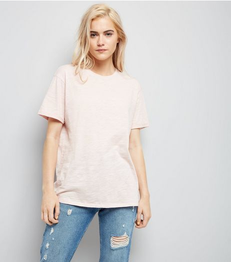Pink Organic Cotton T-Shirt | New Look
