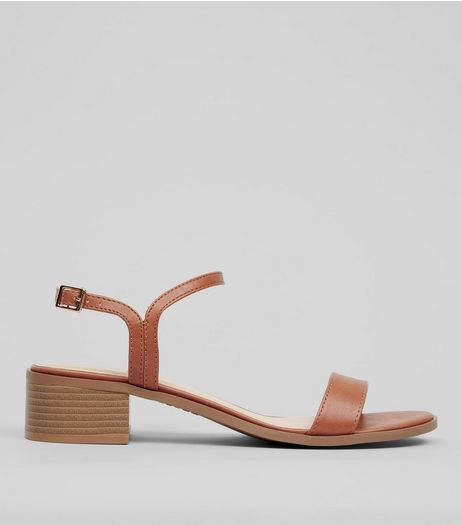 Tan Heeled Sandals | New Look