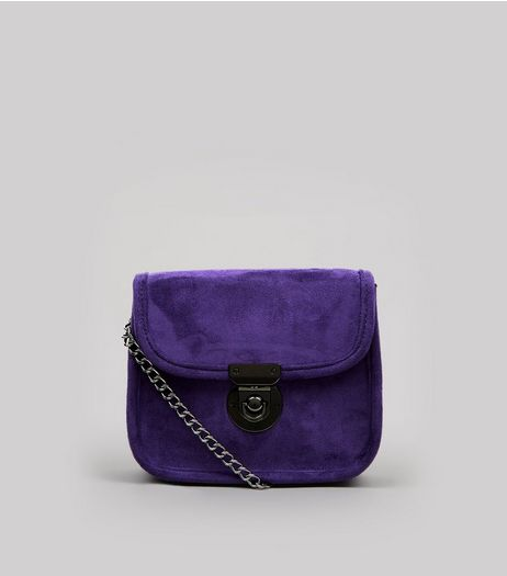 Purple Mini Cross Body Bag | New Look