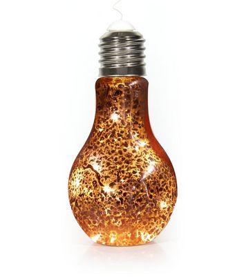 Bronze Hanging Light Bulb